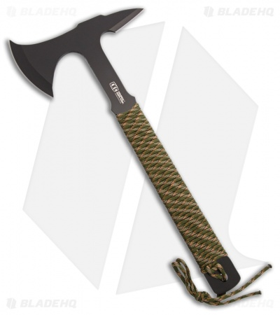"Colonial Knife Tactical Tomahawk 14.00"" Axe - Cord Wrapped"