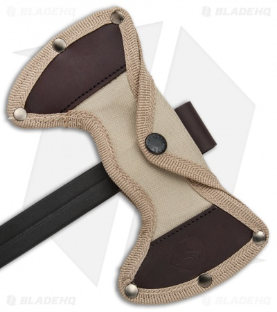 Condor Double Bit Throwing Axe Tan Paracord (Black) CTK1402-1.4