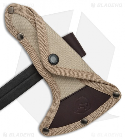 Condor Single Bit Throwing Axe Tan Paracord (Black) CTK1401-1.4