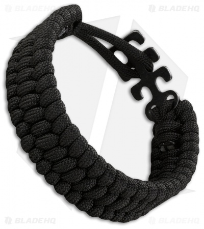 CRKT Adjustable Paracord Bracelet (Black) 9400K