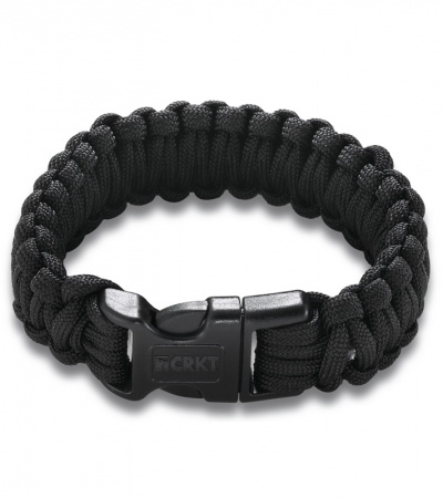 CRKT Onion Survival Para-Saw Paracord Bracelet (Black) 9300K