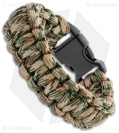 CRKT Onion Survival Para-Saw Paracord Bracelet (Tan) 9300T