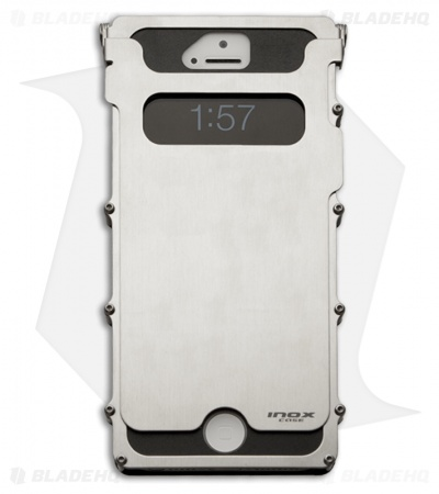 CRKT iNoxCase Stainless Steel iPhone 5 Case 180° Cover INOX5S