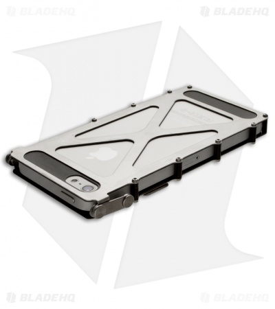 CRKT iNoxCase Stainless Steel iPhone 5 Case 360° Cover INOX5SX