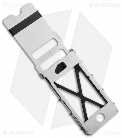 CRKT iNoxCase 2 Stainless Steel iPhone 4/4S Case (Silver) INOX4S2