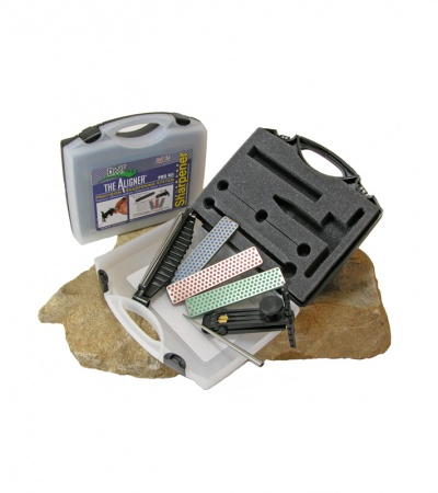 DMT Pro Kit Aligner Guided Diamond Sharpener w/ Rugged Carry Case A-PROKIT