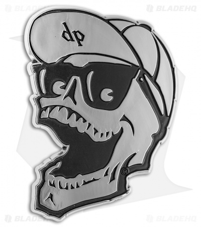 DPx Gear Mr. DP Chrome Auto Emblem Sticker