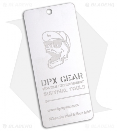 DPx Gear Danger Tag Key Chain Carry Card Blade