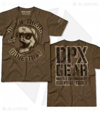 DPx Gear Been There Mocha Heather T-Shirt