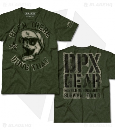 DPx Gear Been There Forest Heather T-Shirt