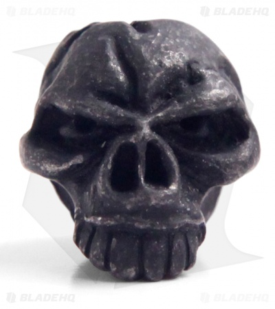 Schmuckatelli Emerson Skull Lanyard Bead (Black Oxidized)