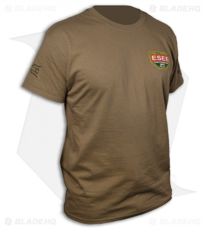 ESEE Knives Training T-Shirt - Brown