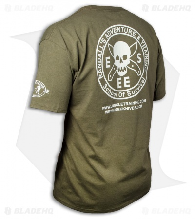ESEE Knives Training T-Shirt - OD Green