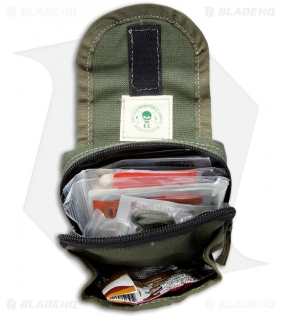 ESEE Knives ADVANCED Survival / E&E Pocket Kit Emergency w/ Green Bag