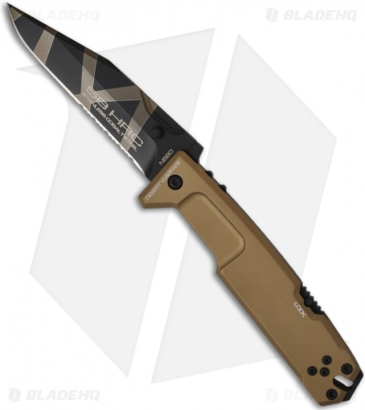 "Extrema Ratio Desert Warfare MPC Multi Purpose Combat Knife Folder (4.5"" Serr)"