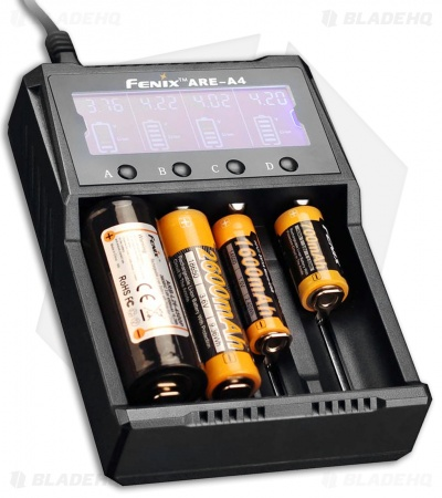Fenix ARE-A4 4-Battery Advanced Multi-Charger Digital