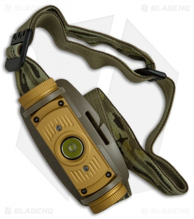 FENIX HL60R Rechargeable Headlamp Tan Flashlight Cree XM-L2 T6 (950 lumens)