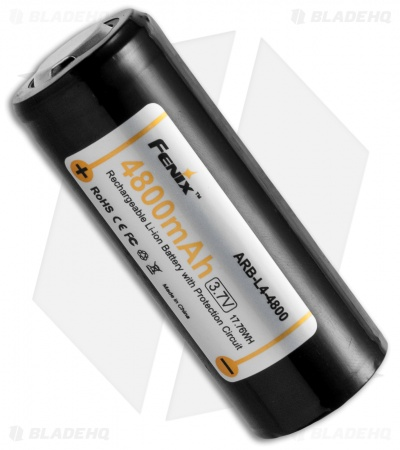 Fenix ARB-L4-4800 Rechargeable 26650 Li-ion Battery 4800mAh / 3.7V