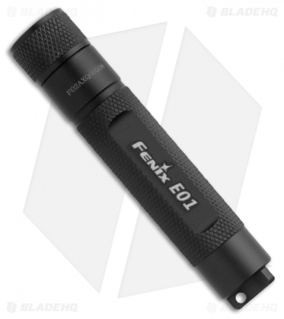 Fenix E01 Flashlight Compact Nichia White GS LED + Battery (13 Lumens)