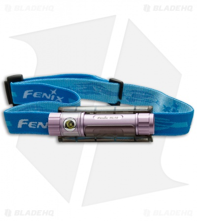Fenix HL10 Purple Multi-Purpose Headlamp Flashlight LXZ2-5770 LED