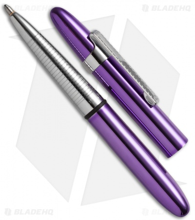 Fisher Space Pen Purple Passion Bullet w/ Clip 400PPCL