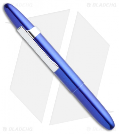 Fisher Space Pen Blueberry Bullet w/ Clip 400BBCL