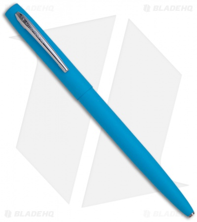 Fisher Space Pen Matte Blue Cap-O-Matic w/ Chrome Clip M4BLCT