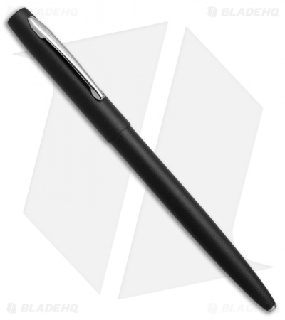 Fisher Space Pen Matte Black Cap-O-Matic w/ Chrome Clip M4BCT