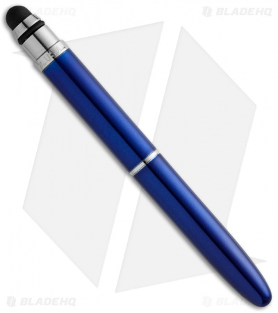 Fisher Space Pen Bullet Grip w/ Stylus (Blue) BG1/S