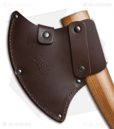 Fox Knives Trekking Axe Dark Sassafrass Wood Handle 682M