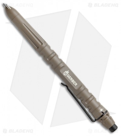 Gerber Impromptu Tactical Pen Stainless Steel (Flat Dark Earth) 31-003226