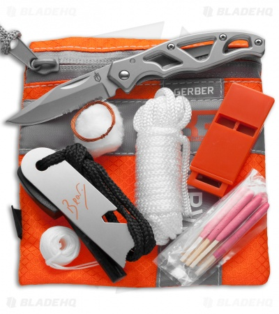 Gerber Bear Grylls Basic Kit (8 Piece Survival Kit) 31-000700
