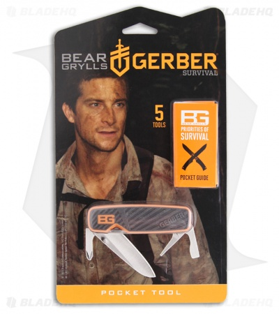 Gerber Bear Grylls Pocket Tool Multi-Tool 31-001050