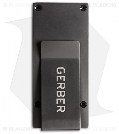 Gerber GDC Money Clip w/ Fixed Blade Knife