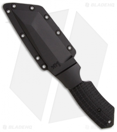 "H&K Conspiracy Fixed Blade Knife (4.80"" Black Serr) 14101SBT"
