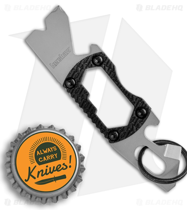 Kershaw Pt-2 Compact Keychain Pry Tool 8810X Made of 8cr13mov Stainless Steel for sale online