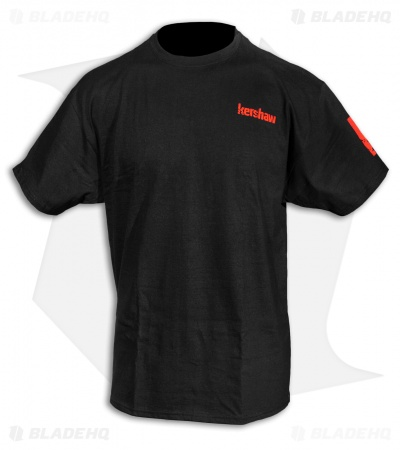 "Kershaw Knives Red Logo ""What Are You Carrying"" T-Shirt"