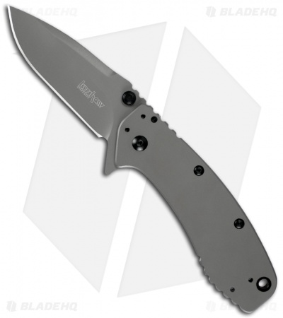 "Kershaw Cryo II Spring Assisted Opening Knife (3.25"" Gray) 1556TI *Preorder"