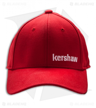 Kershaw Knives Stretch Fit Cap Red