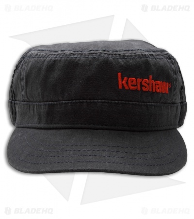 Kershaw Military Hat Black (Adjustable)