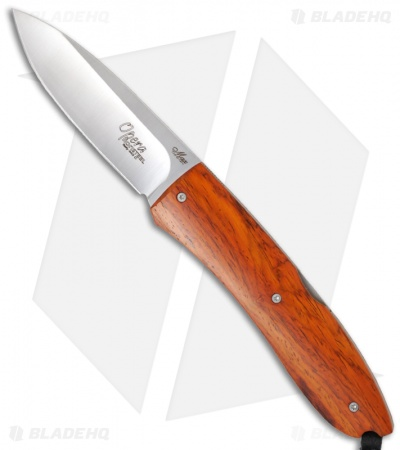 "LionSteel Opera Knife Cocobolo Wood (2.91"" Satin) 8800 CB"