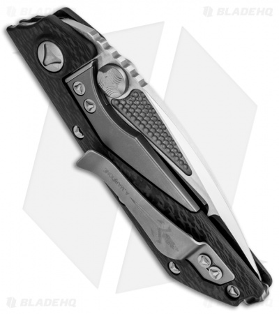 "Marfione Strider Custom DOC D/A Automatic Knife Carbon Fiber (3.75"" High Polish)"