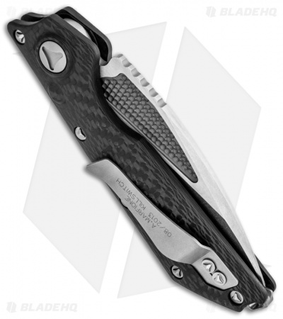 "Marfione Custom DOC Killswitch Automatic Knife Carbon Fiber (3.75"" Tri Tone)"