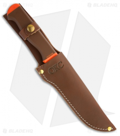 "Ontario OKC Seneca Hunter Knife Fixed Blade (5.5"" Satin Plain)"