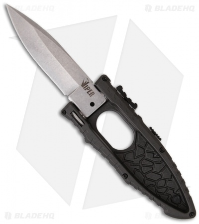 "Schrade Viper Side Opening Assist Knife (3.2"" Drop Point) SCHSAD"