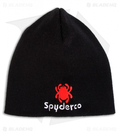 Spyderco Knives Beanie Hat/Cap (Black) HAT5