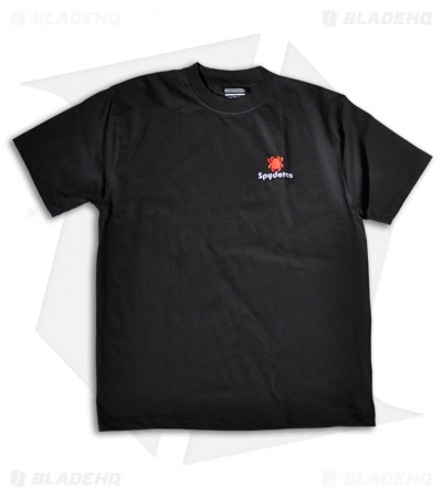 Spyderco Knives Black Short Sleeve T-Shirt