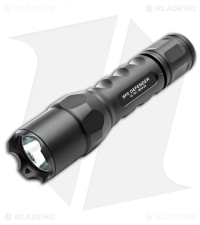 Surefire 6PXD Defender High-Output LED Flashlight (320 Lumens) 6PXD-C-BK