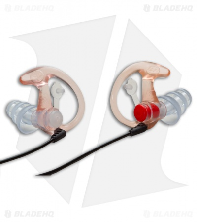 SureFire EarPro 4 Sonic Defenders Plus Earpiece EP4 Filtered (Orange, Large)