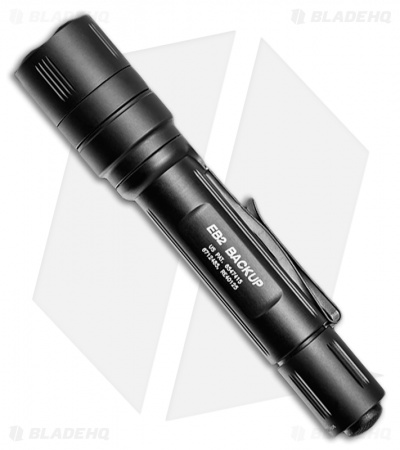 Surefire EB2 Backup Dual-Output Tactical LED Flashlight (500 Lumens) EB2C-A-BK